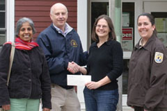 Joseph Warren-Soley Lodge of Masons makes donation to FARNWR