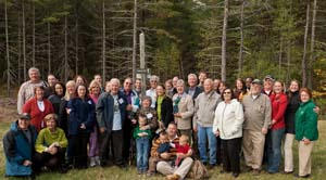 The Carbary family, former residents in the area that is now the refuge. Photo courtesy of and copyright David Griffin.